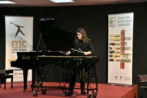 La callosina Isabel Zaragoza obtiene el primer premio y Mención de Honor en la categoría de percusión en el IX Concurso de Jóvenes Intérpretes de la localidad valenciana de Faura-Benifairó
