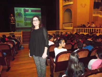 Inaugurada la XXXII Muestra Comarcal de Teatro Escolar, en la que alumnos de 26 colegios de la comarca representarán 33 obras hasta el jueves 24 de mayo