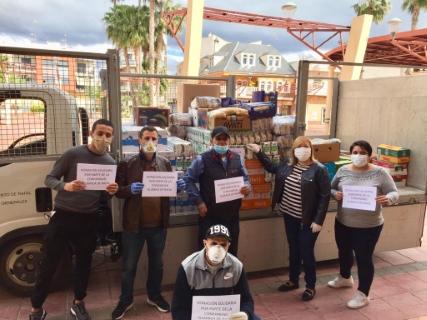 El Banco de Alimentos del Ayuntamiento de Rafal recibe el viernes 24 de abril una donación de 1.500 kilos de productos no perecederos por parte de la Comunidad Islámica del municipio para apoyar en la crisis sanitaria por el coronavirus