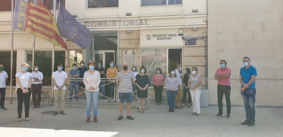 El municipio de Bigastro se une al minuto de silencio por las víctimas del coronavirus