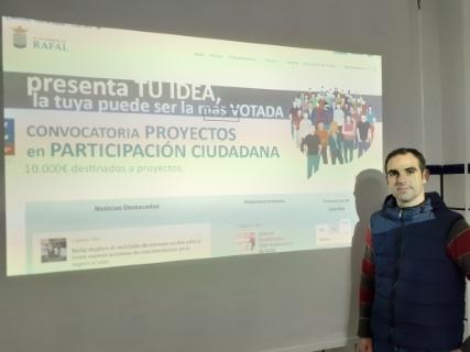 El Ayuntamiento de Rafal da inicio al proceso de votación de las nueve ideas presentadas a la convocatoria de presupuestos participativos de este año