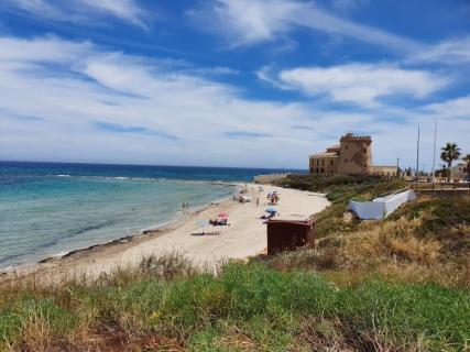 Pilar de la Horadada recupera la bandera azul de la playa de Las Higuericas, con la que en los arenales del municipio ondearán un total de seis
