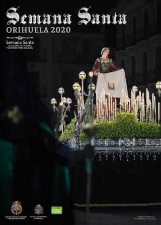 Acto de presentación del cartel de Semana Santa 2020 y de la imagen de la portada de la guía de Cuaresma 2020 en Orihuela (11 enero 2020) _1