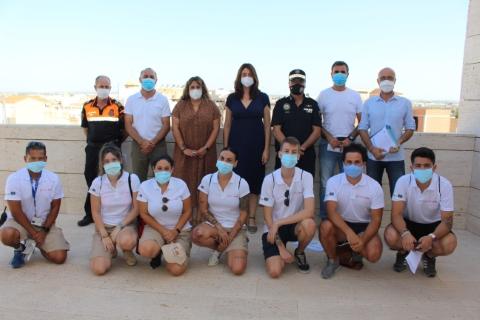 Las playas de Pilar de la Horadada tendrán a 13 informadores para realizar labores informativas y contribuir a ofrecer la máxima seguridad en los arenales