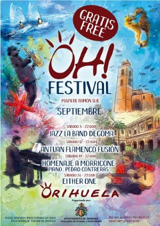 Orihuela: Concierto gratuito del grupo de jazz 'La Band Degoma', dentro del 'OH! Festival'