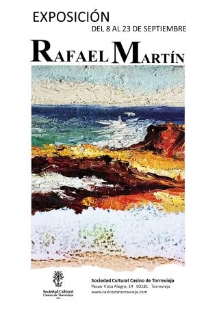 Torrevieja: Inauguración de la exposición de pintura de Rafael Martín, organizado por el Casino