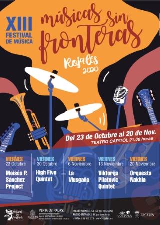 Rojales: Concierto del 'Moisés P. Sánchez Project', dentro del XIII Festival 'Músicas sin fronteras', organizado por la Concejalía de Cultura