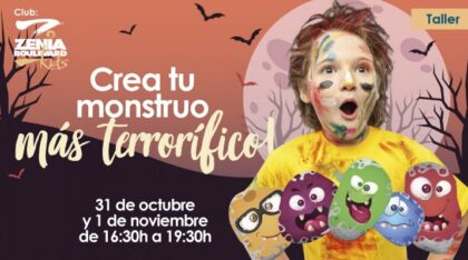 Orihuela Costa: Taller gratuito infantil para crear el monstruo más terrorífico de 'Halloween' en una piedra proporcionada, organizado por el Centro Comercial Zenia Boulevard