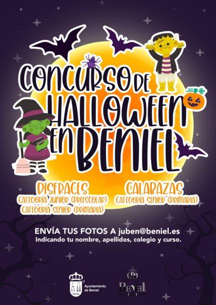 Beniel, evento 'on line': Concurso de fotos de disfraces y de calabazas en la fiesta de 'Halloween' para los más pequeños