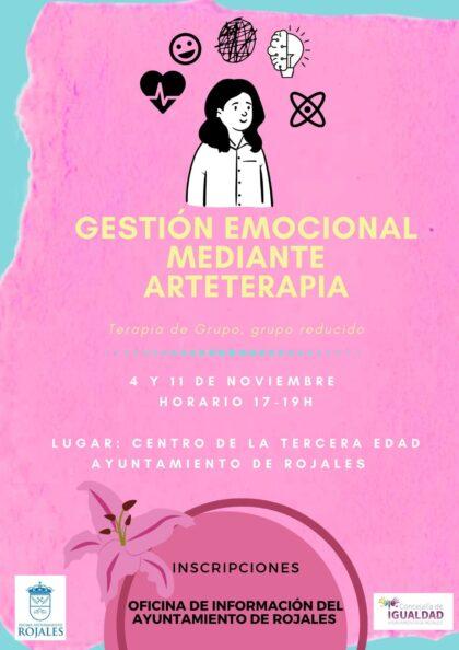 Rojales, evento: Curso 'Gestión emocional mediante arteterapia', por la licenciada en psicología Encarni Salcedo