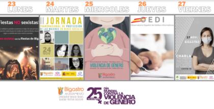 Bigastro, evento: Presentación de la página web sobre fiestas no sexistas, dentro de los actos del Día Internacional Contra la Violencia de Género