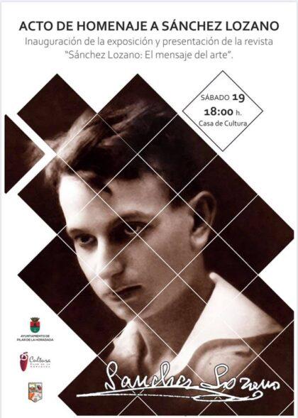 Pilar de la Horadada, evento cultural: Exposición fotográfica de homenaje al escultor Sánchez Lozano en el XXV aniversario de su fallecimiento