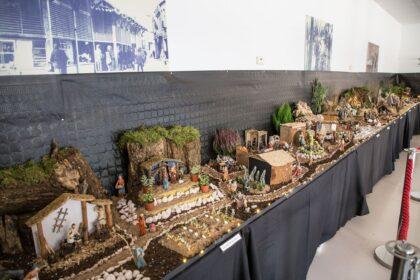 Orihuela Costa, evento: Visitas al Belén Municipal, creado por Jerónimo Blanco, organizado por el Ayuntamiento