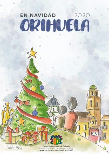 Orihuela, evento: Envío de cartas de los niños a los Reyes Magos, dentro de los actos de Navidad 2020-21