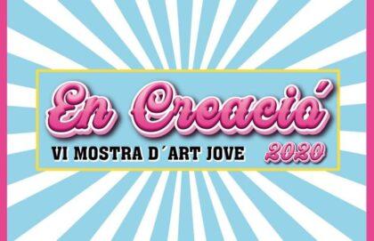 Guardamar del Segura, evento: Apertura de la VI Mostra d'art Jove 'En Creació' 2020 para difundir el trabajo de los jóvenes artistas del municipio