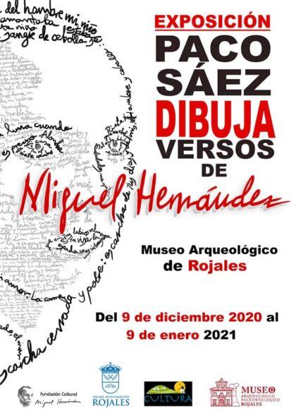 Rojales, evento: Exposición 'Paco Sáez dibuja versos de Miguel Hernández', por el dibujante de San Miguel de Salinas, Paco Sáez