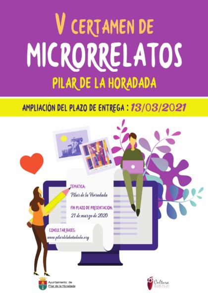 Pilar de la Horadada, evento: Entrega de obras para el V Certamen de Microrrelatos 'Municipio de Pilar de la Horadada'