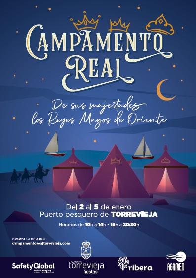 Torrevieja, evento: Visitas al campamento real de Sus Majestades, los Reyes Magos de Oriente, dentro de los actos navideños 2020-21
