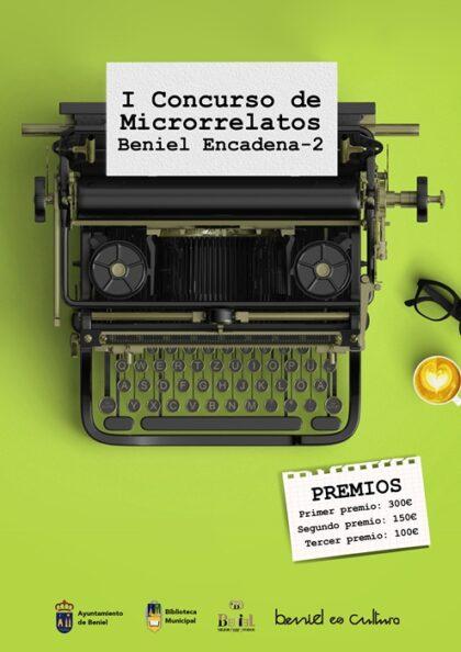 Beniel, evento: Entrega de obras para el I Concurso de microrrelatos 'Beniel Encadena-2', organizado por la Concejalía de Cultura y la Biblioteca Municipal