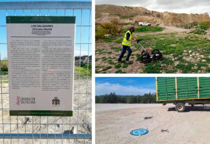 La Concejalía de Patrimonio Histórico iniciará la excavación arqueológica en el Yacimiento de Los Saladares en menos de dos semanas