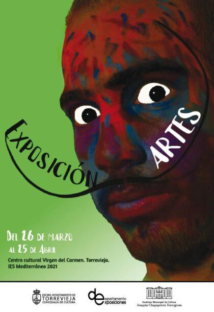 Torrevieja, evento cultural: Exposición de los trabajos de los alumnos de Bachiller de Artes del IES Mediterráneo