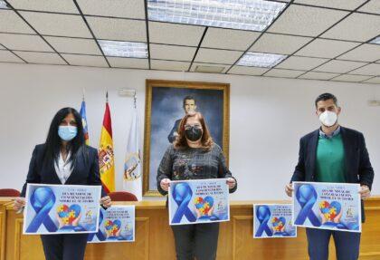Torrevieja, evento: Iluminación de edificios y monumentos municipales y otras acciones en color azul, representativo del Transtorno del Espectro Autista (TEA) para conmemorar el Día Internacional del Autismo