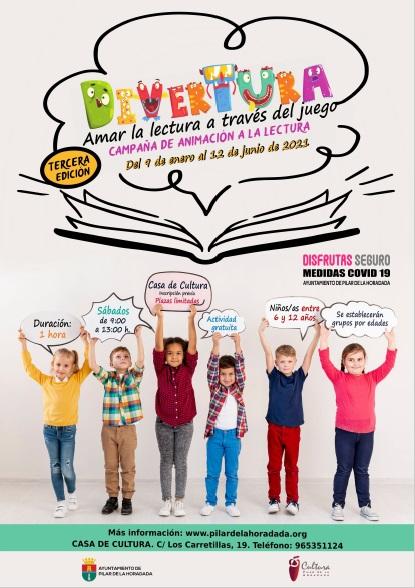Pilar de la Horadada, evento: Actividad 'Amar la lectura a través del juego', dentro de la campaña de animación a la lectura de III Divertura