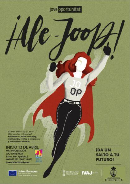 Torrevieja, evento: Inscripción en el programa JOOP 2021 de jóvenes y oportunidades de 'coaching' para jóvenes y adolescentes, organizado por la Concejalía de Juventud