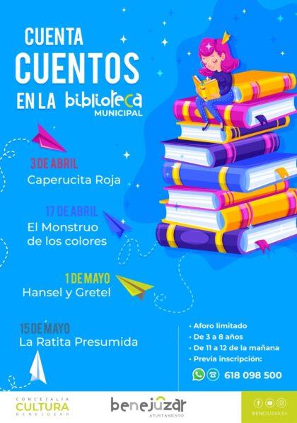 Benejúzar, evento cultural: Sesión de cuentacuentos con 'Hensel y Gretel' para niños de 3 a 8 años, organizada por la Concejalía de Cultura