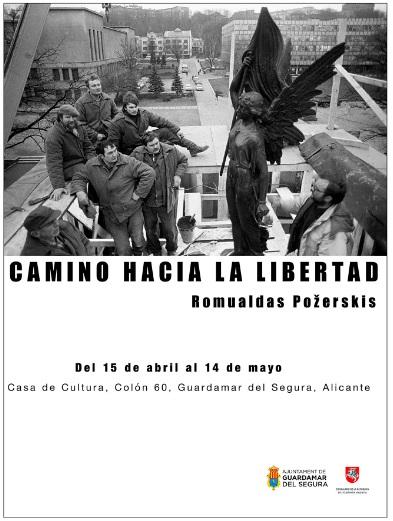 Guardamar del Segura, evento cultural: Exposición de fotografías 'Camino hacia la libertad', del lituano Romualdas Pozerskis, dentro de la agenda cultural