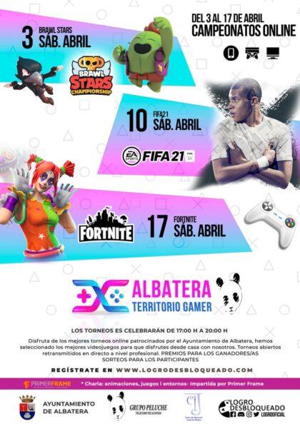 Albatera, evento 'on line': Inscripción a las jornadas 'Lan Party Tecnológica' de videojuegos y pc's, con campeonatos, torneos, charlas didácticas, dentro de 'Albatera, territorio gamer'
