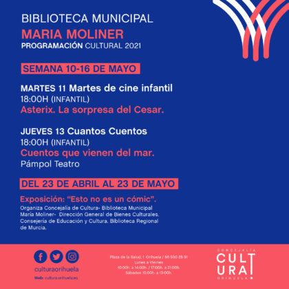 Orihuela, evento cultural: Sesión de 'Martes de cine infantil' con la película estadounidensede dibujos animados 'El viaje de Arlo' (2015), dentro de la programación cultural 2021 de la Biblioteca Municipal 'María Moliner'