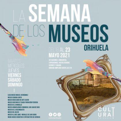 La Concejalía de Cultura celebra el Día Internacional de los Museos durante toda la semana con actuaciones, conciertos, exposiciones y visitas guiadas