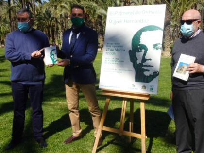 Orihuela, evento cultural: Inscripción a las visitas guiadas al Centro de Interpretación del Palmeral y al Palmeral, organizada por la Concejalía de Medio Ambiente