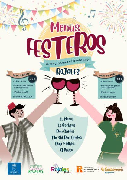 Rojales, evento: Jornadas gastronómicas 'Menús festeros' con seis restaurantes, por la Concejalía de Turismo, dentro de las fiestas patronales de San Pedro Apóstol y de Moros y Cristianos, organizadas por la Concejalía de Fiestas