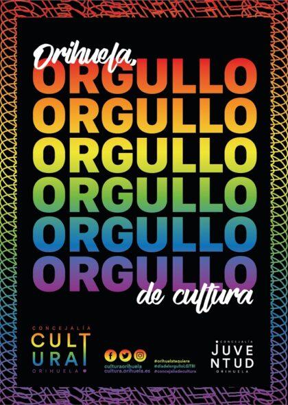 Orihuela, evento cultural: Exposición '...de esmeraldas y epentismo. Poetas que abrieron puertas al arco iris', dentro de los actos de 'Orihuela, orgullo de cultura' de la Concejalía de Cultura para conmemorar el Día del Orgullo LGTBI