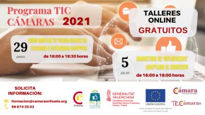 Orihuela, evento 'on line': Inscripción al curso gratuito 'Marketing de 'influencers' adaptado al comercio', organizado por la Cámara de Comercio de Orihuela