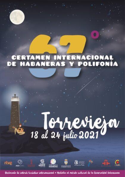 Torrevieja, evento cultural: Venta de abonos para el 67º Certamen Internacional de Habaneras y Polifonía, organizado por el Patronato Municipal del Certamen Internacional de Habaneras y Polifonía de Torrevieja