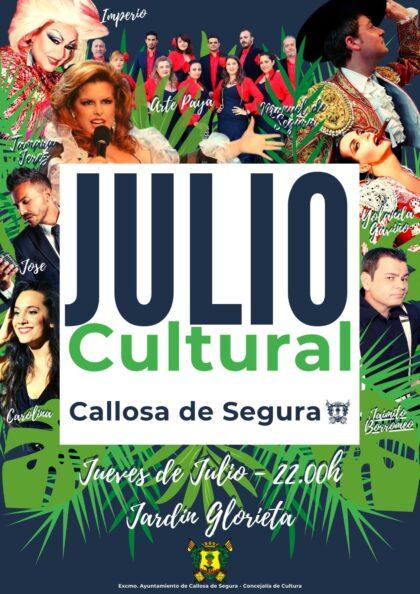 Callosa de Segura, evento cultural: Concierto 'Los grandes clásicos', a cargo del dúo Carolina & José, dentro del ciclo 'Julio Cultural'