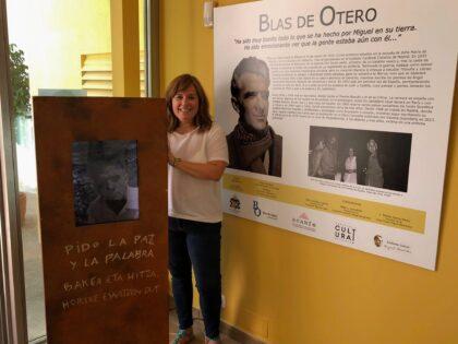 Orihuela, evento cultural: Exposición 'Blas de Otero', sobre la vida y obra del poeta bilbaino con gran influencia de Miguel Hernández, con fotografías de Sabina de la Cruz, organizada por la Concejalía de Cultura