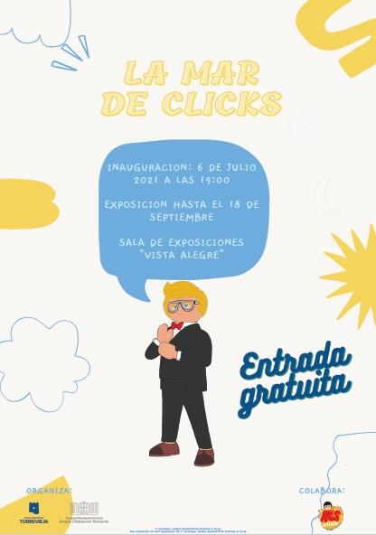 Torrevieja, evento cultural: Exposición 'La mar de clicks', organizada por el Instituto Municipal de Cultura 'Joaquín Chapaprieta' y la asociación Aesclick