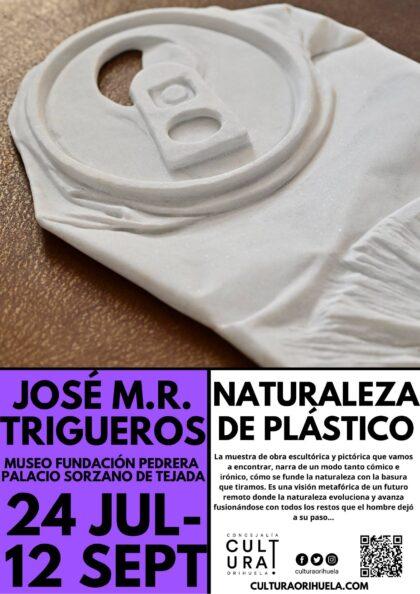 Orihuela, evento cultural: Exposición 'Naturaleza de plástico', del artista José M. R. Trigueros, organizada por la Concejalía de Cultura