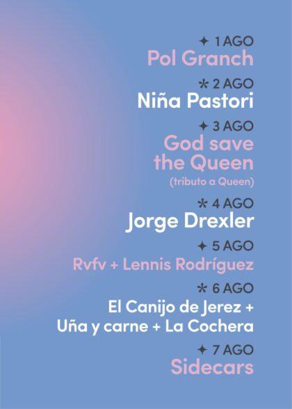 Torrevieja, evento cultural: Venta de entradas para los conciertos de la primera edición del festival boutique 'Brilla Torrevieja', que promociona la cultura, el turismo y el comercio local