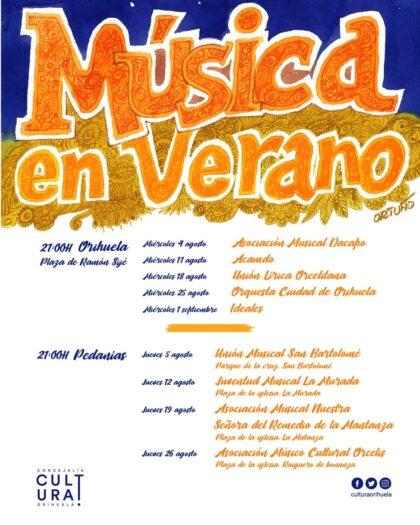 Orihuela, evento cultural: Concierto del grupo Ideales en la plaza Ramón Sijé
