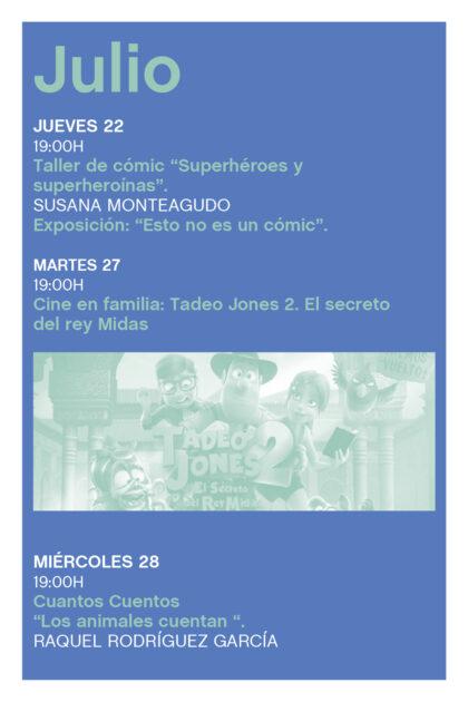 Orihuela, evento: Taller de cómic para todas las edades 'Superhéroes y superheroínas', por Susana Monteagudo, dentro de la programación cultural del verano 2021 de la Biblioteca Municipal 'María Moliner'