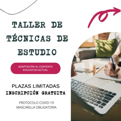 Torrevieja, evento: Inscripción al taller de técnicas de estudio para estudiantes de Bachillerato, universidad, FP y oposiciones, dentro de la Agenda Joven de Verano de 2021, organizada por el CIAJ de la Concejalía de Juventud
