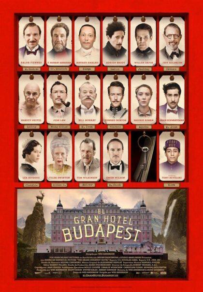 Torrevieja, evento cultural: Sesión de cinecon lapelícula 'El gran hotel Budapest' (2014), de Wes Anderson, con Ralph Fiennes, dentro del ciclo 'Eras de cine' organizado por la Concejalía de Cultura