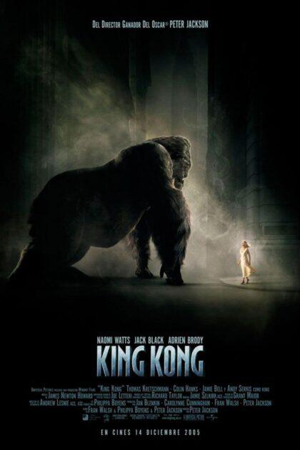 Torrevieja, evento cultural: Sesión de cinecon lapelícula 'King Kong' (2005), de Peter Jackson, con Naomi Watts, dentro del ciclo 'Eras de cine' organizado por la Concejalía de Cultura