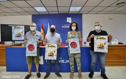 Torrevieja, evento: I Concurso de Tortilla al Gusto con la participación de 12 bares y restaurantes, organizada por el Ayuntamiento y la Asociación de Empresas de Hostelería de Torrevieja y Comarca (AEHTC)
