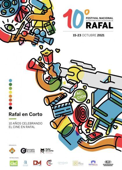 Rafal, evento cultural: Exposición '10 años celebrando el cine en Rafal', dentro del X Festival Nacional de Cortometrajes y Audiovisual 'Rafal en Corto'